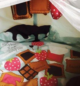 Коврик для игр и спальное место с балдахином!
