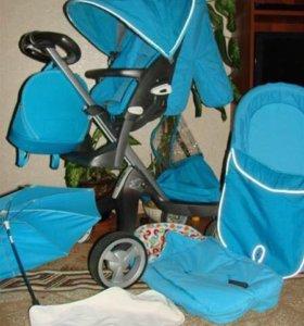Детская коляска stokke 3 в 1