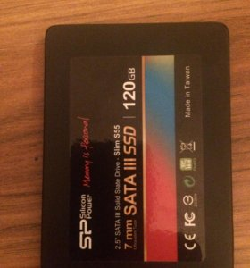 SSD диск 120g
