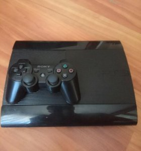 Sony PS3 SuperSlim + 3 диска