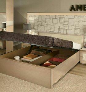 Кровать с подьемником