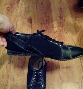 Ботиночки кожаные р-р 37-38