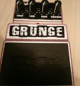 🎼 Легендарный Digitech Grunge Distortion с блоком