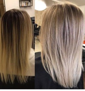 Модное Окрашивание волос,кератиновое выпрямление