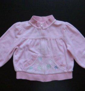 Велюровая кофта Gymboree 92-98 /Zara Mothercare