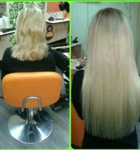 Наращевание волос