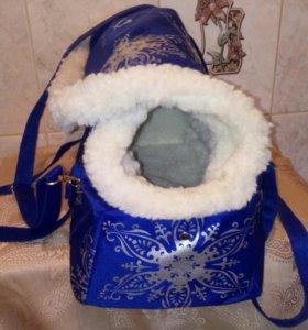 Новая сумка-переноска для малениких собачек