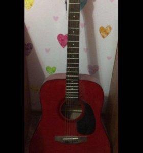 Акустическая гитара. Новая. 6 струн