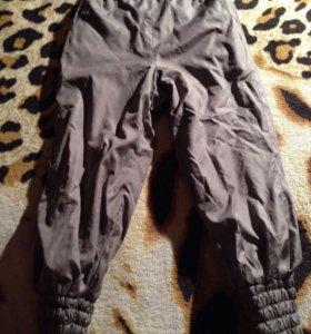 Прогулочные штаны на флисе 92-98