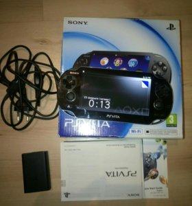 PS Vita + Wi-Fi + 8gb