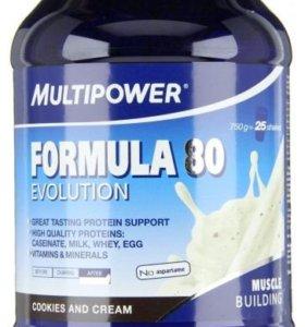 Спортивное питание Multipower Formula80 750g