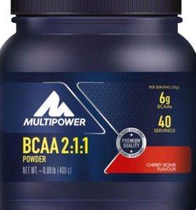 Спортивное питание Multipower bcaa powder 400g