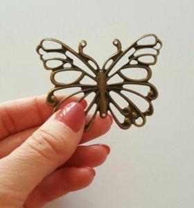 Филигрань бабочка медная