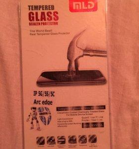 Защитное стекло на iPhone 6/6s/5/5c/5s
