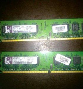 ОЗУ DDR2 1Gb