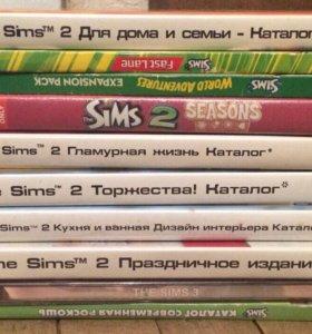 SIMS 2 игра (10 дисков)