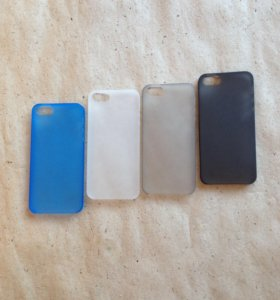 Ультратонкий чехол на iPhone 5;5S;SE