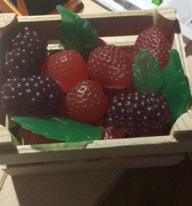 Ящичек полон ягод - мыло ручной работы