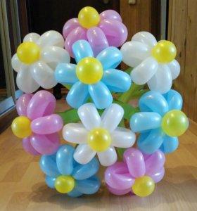 Букет из шариков(60-70)