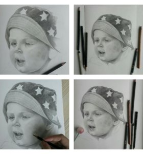 Портрет от художника