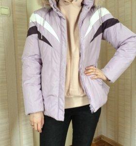 Демисезонная куртка р.44
