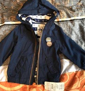 Куртка Waikiki 74-80 новая бирки
