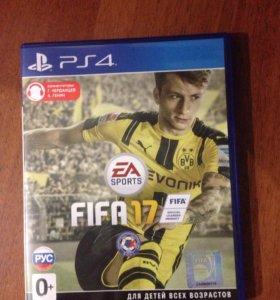 Игра FIFA 17 PS 4