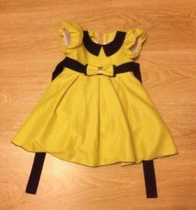 Платье для девочки 2-3года новое