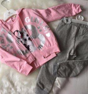 Спортивный костюм Беби роз 1-3 года