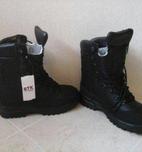 Ультратеплые мужские армейские ботинки(43р)