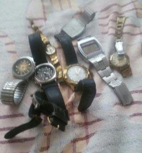 птом б/у: наручн.часы,соединительная гарнитура, т