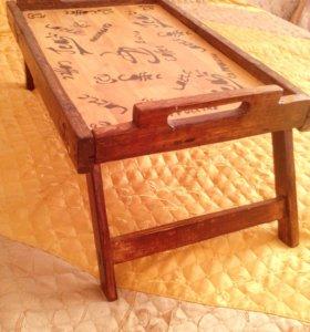 Столик в кровать