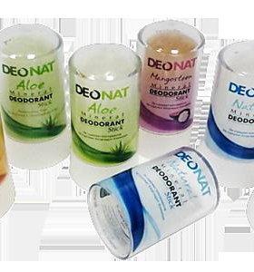 Природные кристаллические дезодоранты