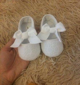 Ботиночки для малышки