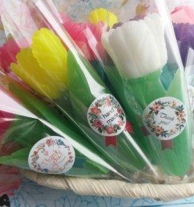 Тюльпан их мыла