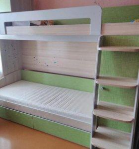 Двухьяростная кровать