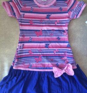 Платье и ветровка