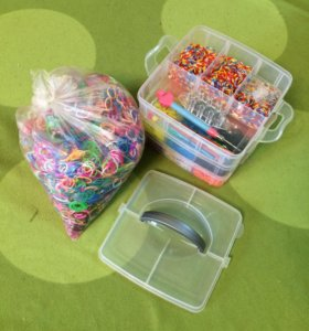 Резиночки для плетения rainbow loom