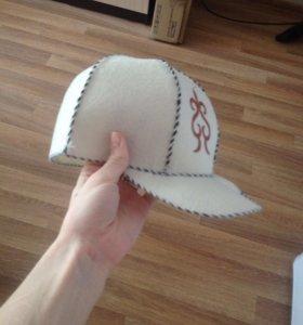 Кепка-шапка банная