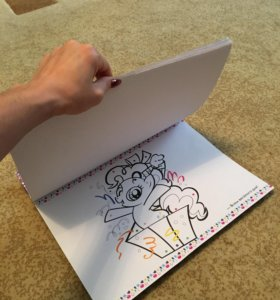 Раскраска my little pony