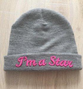 Вязаная шапка H&M на девочку