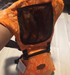 Оранжевый новый хипсит со спинкой + доставка