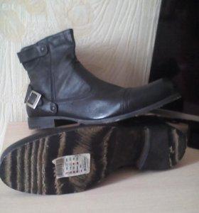 Новые ботинки осень. Дания