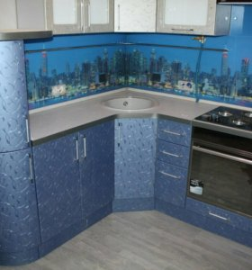 Кухня с фотопечатью