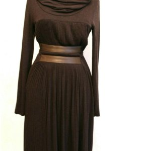 Платье из нежного трикотажа