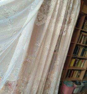 Тюль на окно шириной 3 метра