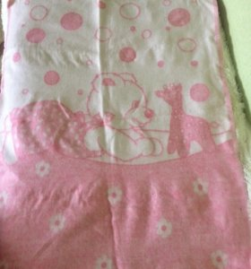 Новое одеяло из шерсти