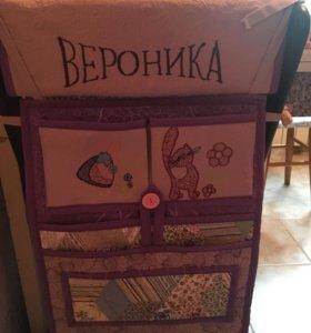 Сидушки на стулья и спинку для детей