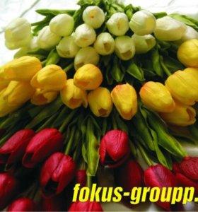 Декоративные цветы-как живые!! Декор Новинка!!!