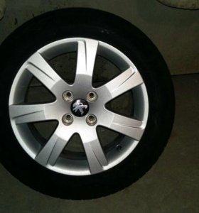 Колеса на Пежо 308 на литье